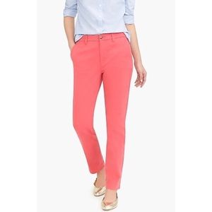 New J. Crew pink ankle chino pants 2/4